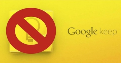 No-keep-Google-Keep